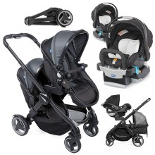 Chicco - Duo Fully Twin - Stone