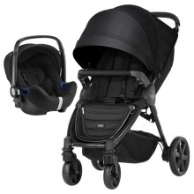 Britax Römer - Duo B-Agile 4 Plus i-Size Bundle - Cosmos Black '2019