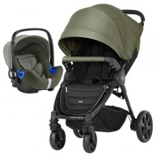 Britax Römer - Duo B-Agile 4 Plus i-Size Bundle - Olive Green '2019