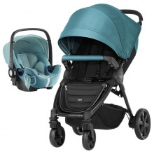 Britax Römer - Duo B-Agile 4 Plus i-Size Bundle - Lagoon Green '2019