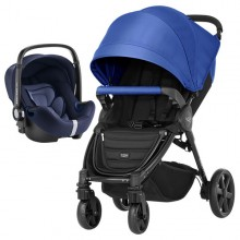 Britax Römer - Duo B-Agile 4 Plus i-Size Bundle - Ocean Blue '2019