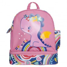 Tuc Tuc - Mochila Lancheira Enjoy & Dream - Rosa
