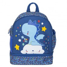 Tuc Tuc - Mochila Lancheira Enjoy & Dream - Azul