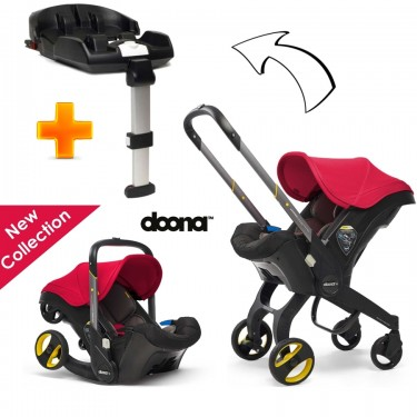 SimpleParenting - Pack Doona c/Isofix - Flame Red