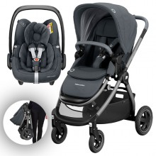 Bébé Confort - Duo Adorra c/Pebble Pro - Essential Graphite '2020
