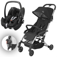 Bébé Confort - Duo Laika 2 c/Pebble Pro - Essential Black '2020