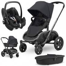 Quinny - Trio Hubb c/Pebble Pro - Black On Black '2020
