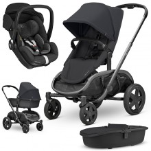 Quinny - Trio Hubb c/Marble - Black On Black '2020