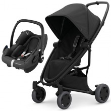 Quinny - Duo Zapp Flex Plus c/Rock - Black On Black '2020