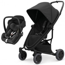 Quinny - Duo Zapp Flex Plus c/Marble - Black On Black '2020