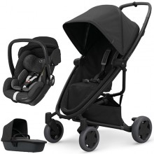 Quinny - Trio Zapp Flex Plus c/Marble - Black On Black '2020