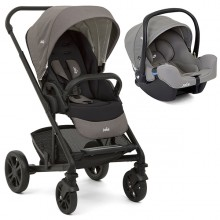 Joie - Duo Chrome c/i-Snug - Foggy Gray '2020