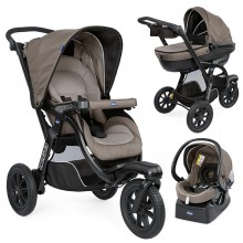 Chicco - Trio Activ3 Top - Dark Beige