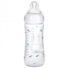 Bébé Confort - Biberão Emotion Sweet Bunny 330ml - Branco