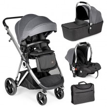 Innovaciones MS - Trio Mommy Plus - Gris