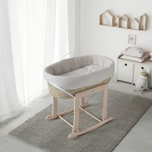 Micuna - Mini Berço - Moisés Nature - Waterwood Nature Beige