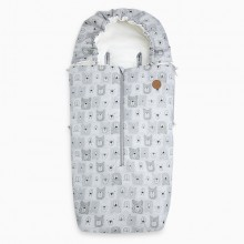 Tuc Tuc - Saco de Inverno Heady Weekend - Bears Gris