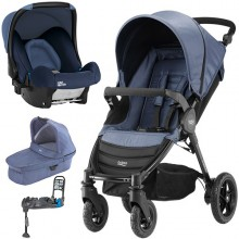Britax Römer - Trio B-Motion 4 - Blue Denim