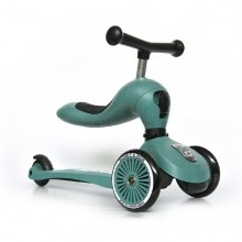Scoot & Ride - Patinete 2-1 HighwayKick One - Forest