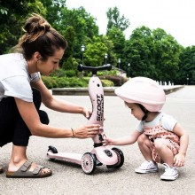 Scoot & Ride - Patinete 2-1 HighwayKick One - Rose