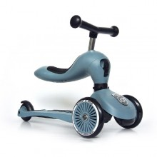 Scoot & Ride - Patinete 2-1 HighwayKick One - Steel