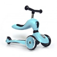 Scoot & Ride - Patinete 2-1 HighwayKick One - Blueberry