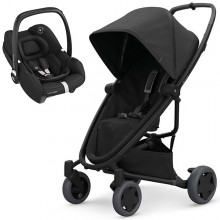 Quinny - Duo Zapp Flex Plus c/Tinca - Black On Black
