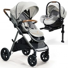 Joie - Duo Aeria Signature c/Base Isofix - Oyster