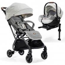 Joie - Duo Tourist Signature c/Base Isofix - Oyster