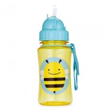 Skip Hop - Copo Straw Bottle - BEE