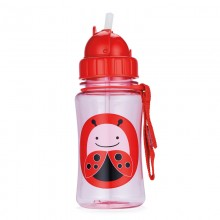 Skip Hop - Copo Straw Bottle - LADY BUG