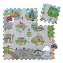 Chicco - Tapetes Puzzle Cidade