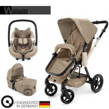 Concord - Trio Wanderer Mobility Set - Almond Beige
