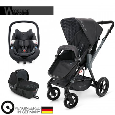 Concord - Trio Wanderer Travel Set - Raven Black
