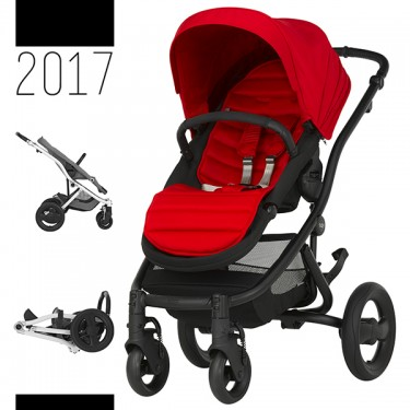 Britax Römer - Affinity 2 - Black Flame Red '2017