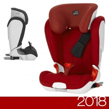 Römer - Kidfix II XP - Flame Red '2018