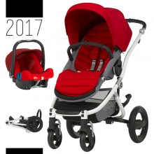 Britax Römer - Duo Affinity 2 - White Flame Red '2017