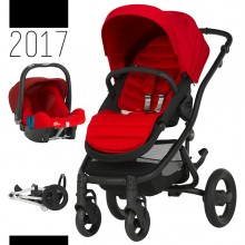 Britax Römer - Duo Affinity 2 - Black Flame Red '2017