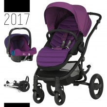 Britax Römer - Duo Affinity 2 - Black Minerall Lilac '2017