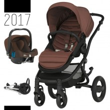 Britax Römer - Duo Affinity 2 - Black Wood Brown '2017