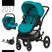 Britax Römer - Duo Affinity 2 - Black Lagoon Green Marble '2017