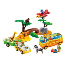 Playmobil - 1.2.3 Safari