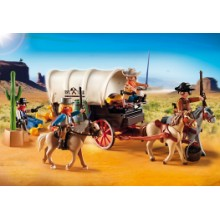 Playmobil - Carruagem de Cowboys