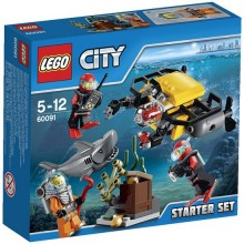 Lego City - Explorador do Fundo do Mar