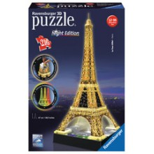Ravensburger - La Tour Eiffel 3D com LED