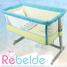 Rebelde - Mini-Berço Co-Sleeping - Berry Sweet
