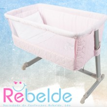 Rebelde - Mini-Berço Co-Sleeping - Honey Bunny Rosa