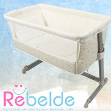 Rebelde - Mini-Berço Co-Sleeping - Little Flowers