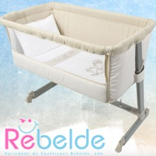 Rebelde - Mini-Berço Co-Sleeping - Vintage
