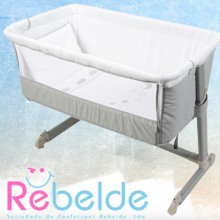 Rebelde - Mini-Berço Co-Sleeping - Silver Moon